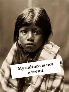 This speaks for indigenous people worldwide.