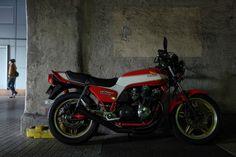 HONDA CB750F / FUJIFILM X100S