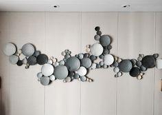 Metal Wall Decor, Diy Wall Art, Wood Wall Art, Wall Sculptures, Sculpture Art, Diy Casa, Ceramic Wall Art, Clay Art, Installation Art