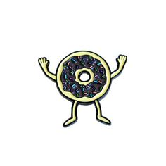 Donuts Pin by Gangster Doodles. I got this guy for christmas!!