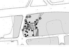 Public Toilets in the Tête d'Or Park,Site Plan