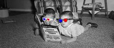 3-D Comic Books - 3dfilmarchive Glitch, 3 D, Comic Books, Comics, Kunst, Hacks, Cartoons, Cartoons, Comic