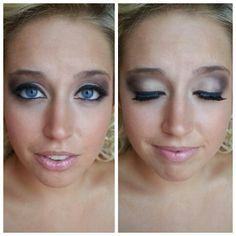 #bride #makeup #wedding by @Kristin Foreman