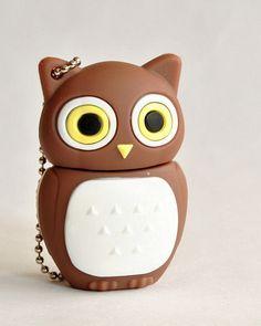Adorable owl hard drive!