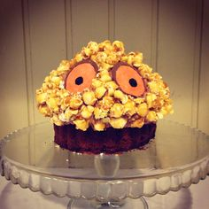 """A gruffalo themed party """"Gruffalo Crumble"""" cake. Leo Birthday, 2 Birthday Cake, 4th Birthday Parties, Birthday Board, Birthday Ideas, Gruffalo Party, Childrens Party, Themed Cakes, Let Them Eat Cake"""