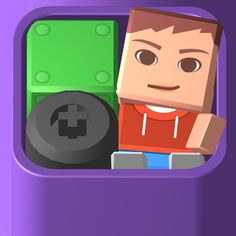 Blocksworld HD App iTunes App Icon Logo By Linden Research, Inc. Sandbox, App Icon, Ipod Touch, Itunes, Nintendo Switch, Mac, Iphone, Learning