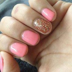 Pink gels.