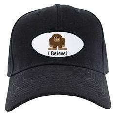 I Believe! Bigfoot Baseball Hat on CafePress.com