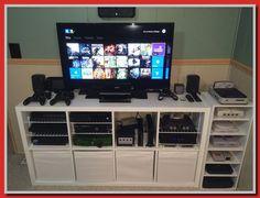 New diy storage for kids room awesome Ideas Diy Storage, Storage Chest, Tv Stand Bookshelf, Gaming Cabinet, Blue Tv Stand, Kallax Shelving Unit, Rattan Corner Sofa, Corner Sink Bathroom, Kitchen Faucet Reviews