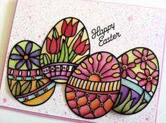Studio Els - Easter Eggs by: Els van de Burgt, owner/designer Elizabeth Craft Designs - image 5 -  for Scrapbooking.com March 2013 issue