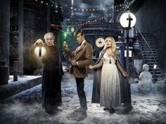 Michael Gambon, Katherine Jenkins, Matt Smith, and in Doctor Who: A Christmas Carol (2010)