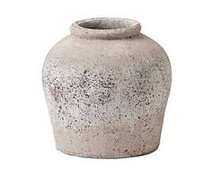Pot Aira Medium, grijs, H 39 cm Decorative Objects, Decorative Plates, Home Accents, Pottery, Led, Sculpture, Stone, Interior, Home Decor