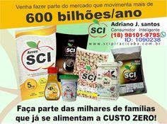 SCI Consumidor Inteligente - Consultores Hinode - Página Lucrativa - Negócios Online - Renda Extra: SCI Alimentando e Levando Renda ao Brasil
