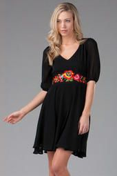 Arriaga Embroidered Dress
