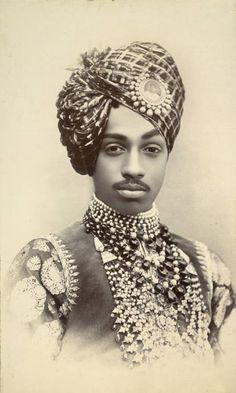 A Moorish (Black) King of India Jodhpur, King Of India, Kings & Queens, Black Royalty, African Royalty, By Any Means Necessary, Vintage India, Black King, Black History Facts