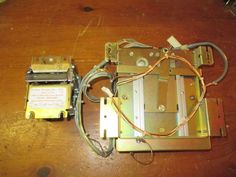ROWE AMI OBA BILL HEAD WITH STACKER ASSY. F/ ROWE CD100 CD100A JUKEBOX, NOT COMP #ROWE