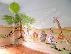 ζωγραφική παιδικών δωματίων, παιδικές τοιχογραφίες, ζωγραφική σε τοίχο Murals, Photo Galleries, Gallery, Home Decor, Bedrooms, Decoration Home, Roof Rack, Room Decor, Wall Paintings