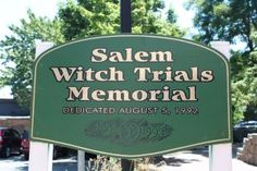 Salem Witch Trials Memorial - I studied this in school and would love to go and see the location.