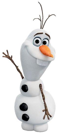 Olaf saludando.