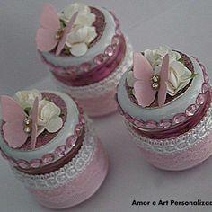 Transforma los pequeños frascos de vidrio en unos lindos recuerdos o souvenirs para cualquier ocasión especial. Los contenedores de aliment...