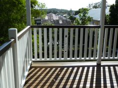 pattern and plain balusters