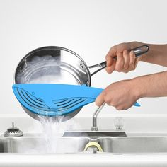 Big Blue Whale Strainer #Accessory, #Strainer, #Whale