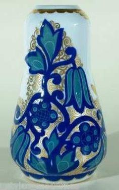 Rosari Selb Bavaria 17.3 cm Art Nouveau, Bavaria, Decoration, Ebay, Vases, Design, Home Decor, Porcelain Vase, Ceramic Vase