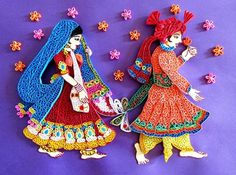 indian bride and groom quilling - Google Search