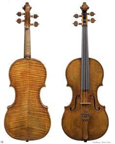 """1730c Guarneri Del Gesu Violin """"Goldberg-Baron Vitta"""" from Library of Congress Collection"""