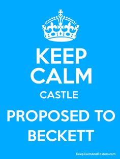 Caskett--But I was on the edge of my seat and had gnawed off all my nails before he did. :D