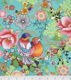 Legacy Studio Fabric-Isle De Paradiso Floral Master: premium quilting fabric: quilting fabric & kits: fabric: Shop | Joann.com
