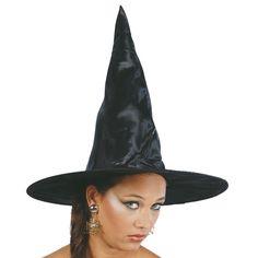 Chapeau Sorcière Noir #chapeauxdéguisements #accessoiresdéguisements #accessoiresphotocall