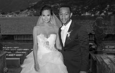 Chrissy Teigen and John Legend were married in Lake Como, Italy in early September. The bride wore three different Vera Wang wedding dresses.