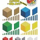 Math Place Value, Place Values, Math Clipart, School Places, Base Ten Blocks, 2d And 3d Shapes, Teachers Toolbox, Fourth Grade Math, Math Manipulatives