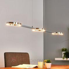 LED-Hängeleuchte Klea Hängelampe Esstisch Esszimmer Pendel Lampenwelt Drei Ringe in Möbel & Wohnen, Beleuchtung, Deckenlampen & Kronleuchter   eBay!