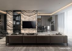 Beautiful Modern Living Room Interior Design 82