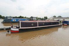 Tug-style narrowboat Narrowboat, Ted, The Originals, Image, Style, Swag