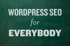 WordPress SEO for Everybody.  A Complete Guide to Improving Your WordPress SEO.