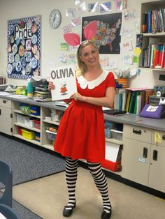 I Want to be a Super Teacher: Olivia Costume and More - Getting Ready for Book Character Day