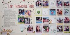 Love all the small photos across a two page layout Marie-Pierre: Embellish with sprinkling Scrapbook Supplies, Scrapbooking Layouts, Scrapbook Pages, Ink Splatter, Beautiful Notes, Image Layout, You Make Me Happy, Let's Create, American Crafts