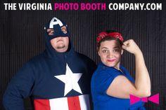 Halloween Photo Booth -  The Virginia Photo Booth Company, www.thevirginiaphotoboothcompany.com