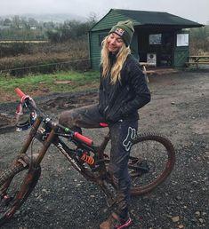 True mountainbiker, not poseur!