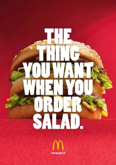The thing, Mcdonalds Fast Food Restaurant, Miami Ad School Berlin, McDonalds, Print, Outdoor, Ads