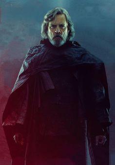 ATUALIZADO em 30/08/2017 com duas novas fotos, de Luke Skywalker (Mark Hamill) e Rey (Daisy Ridley):