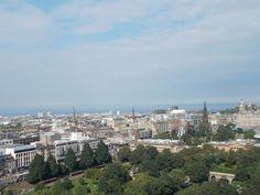 Edinburgh from The Castle. #scotland Scotland