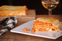 Neus cocinando con Thermomix: Empanada gallega de bonito