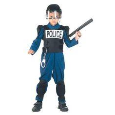 Ομάδα Δίας αστυνομική παιδική στολή για αγόρια