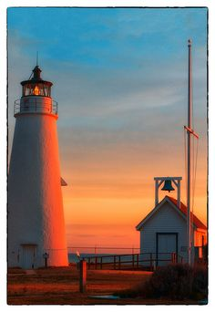 Cove Point Lighthouse, Maryland by Bill Conway