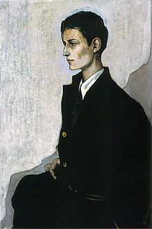Peter a Young English Girl (1923-1924) by Romaine Brooks
