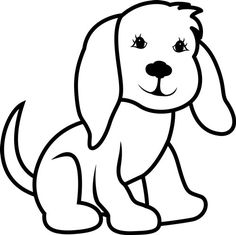 Dog Outline | Boy Room Decorating Ideas | Pinterest | Dog outline